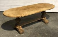 Large Oak Farmhouse Table with Extensions (26 of 30)