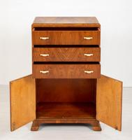 Art Deco Ladies Walnut Compactum (4 of 6)