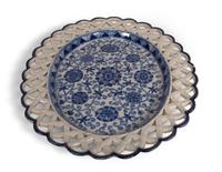 Blue and White Oval Plate (2 of 5)