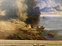 Charming Pair of Framed Oil on Canvas Lakeland Paintings (2 of 6)