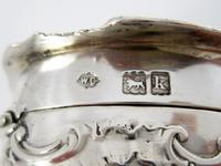 Edwardian William Comyns Silver Jewellery or Pot Pourri Box (6 of 6)