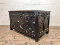 Antique Oak Coffer Blanket Box (11 of 11)