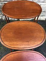 Antique Mahogany Nest of 3 Tables (6 of 7)