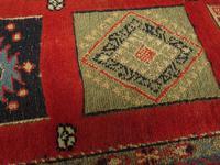 Superbly Colourful Antique Rahra Rug, Kilim Rug (3 of 13)