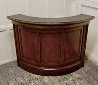 19th Century Oak Courtroom Dock, Restaurant Reception Greeting Station, Greeter (2 of 10)