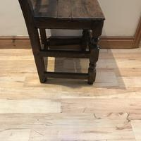 1680's Oak Pegged Chair (15 of 15)