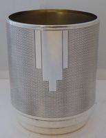 Art Deco 1932 Hallmarked Solid Silver Christening Mug Tankard Mint Condition (4 of 9)