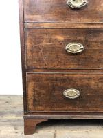 Antique George III Mahogany Chest of Drawers (10 of 10)
