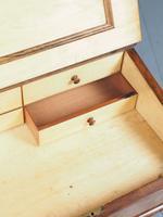 Antique Mid-victorian Burr Walnut Davenport Desk (6 of 12)