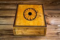 Beautiful Georgian Figured Walnut Jewellery Box 1800 (8 of 13)