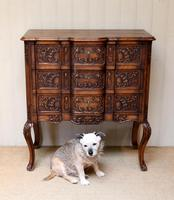 French Oak Chest of Drawers (10 of 10)