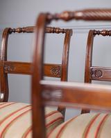Set of 4 Regency Mahogany Dining Chairs (3 of 4)