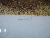 """Gilbert Browne Lithographic Print """"Harvest's End"""" (4 of 5)"""