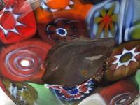 2 Italian Murano 20th Century Fratelli & Torso Millefiori Glass Vases (11 of 15)