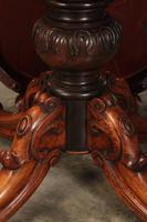 Victorian Shaped Rosewood Centre Table (5 of 14)