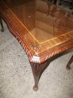 Glass Topped Coffee Table (2 of 2)