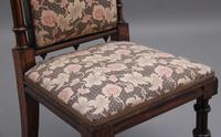 Early 19th Century Rosewood Chair in the Gothic Style (8 of 9)