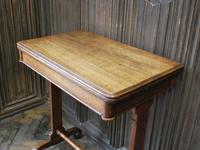 Oak Occasional Side Tea Table (5 of 9)