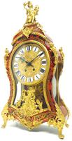 Wow! Phenomenal French Boulle Mantel Clock Rare 8-day Striking Bracket Clock Superb Condition (7 of 22)
