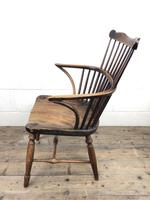 Early Georgian Windsor Stick Back Chair (9 of 11)