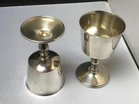 Excellent Pair of Solid Silver Goblets (2 of 6)