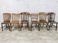 A Harlequin Set of 6 Kitchen Chairs (2 of 7)