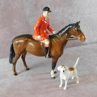 Beswick Huntsman No 1501 complete with Hound
