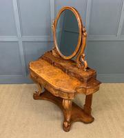 Victorian Period Burr Walnut Duchess Dressing Table (17 of 18)