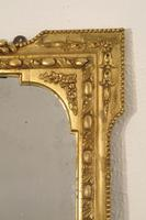 Gilt Overmantle Mirror with 'Fern' Decoration (3 of 9)