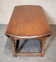 Oak Drop Leaf Occasional - Coffee Table Wood Bros, Old Charm Furniture (10 of 11)