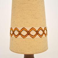 1960's Vintage German Ceramic Table Lamp (5 of 8)