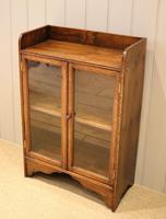 Small Proportioned Oak Glazed Bookcase (6 of 11)