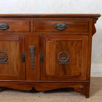 Dresser Base Arts & Crafts Walnut Sideboard 19th Century (5 of 11)