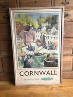 Original British Railways Poster Cornwall by Jack Merriott c.1950 (2 of 14)
