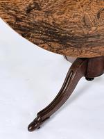 Early 19th Century Country Oak Tilt-Top Breakfast Table (3 of 9)