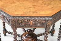 Victorian Octagonal Centre Table (8 of 12)