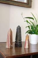 Set of Three Marble Needle Obelisks (2 of 4)