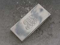Early 20th Century Silver Triple Compartment Stamp Case by Cohen & Charles, London, 1913 (3 of 10)
