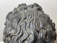 Classical Music Interest German Bronze Composer Ludwig Van Beethoven Bust Sculpture (21 of 25)