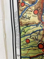 Large Vintage Westermann Wall Map of East & South-East Asia 1960's 'M-1747' (9 of 11)