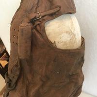 WWI British Fighter Pilots Cowl Helmet (15 of 16)