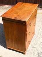 1940s 3 Drawer Oak Chest of Drawers (3 of 4)