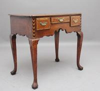 Decorative 18th Century Oak Lowboy (2 of 9)