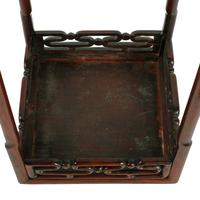 Late 19th Century Chinese Rosewood Stand (6 of 8)