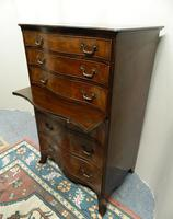 Mahogany Tallboy / Chest of Drawers (4 of 6)