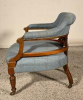 Scottish Armchair In Mahogany Called Tub Chair 19th Century (4 of 7)
