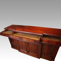 Victorian Mahogany Breakfront Sideboard (6 of 9)