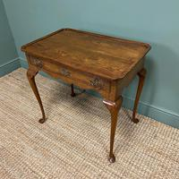 Victorian Oak Antique Silver Table (4 of 6)