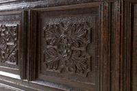 17th Century English Oak Panelled Coffer (8 of 9)