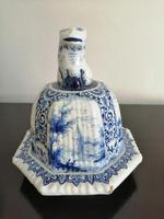 Imposing 19th Century Dutch Delft Blue & White Vase & Cover (12 of 15)